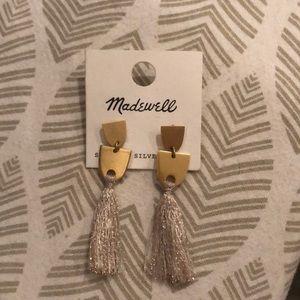 Made well tassel earrings